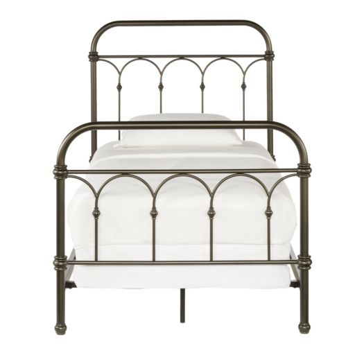 HomeVance Harper Metal Bed