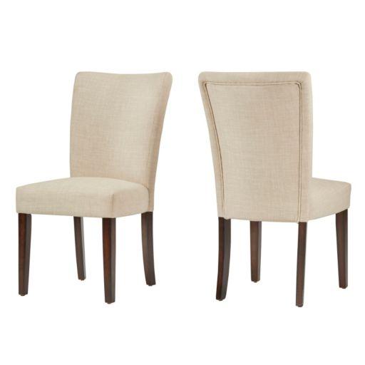 HomeVance 2-piece Leona Side Dining Chair Set