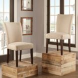 HomeVance 2 pc Leona Side Dining Chair Set