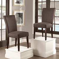 HomeVance 2-piece Leona Side Dining Chair Set