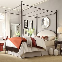 HomeVance Gabrielle Canopy Bed by