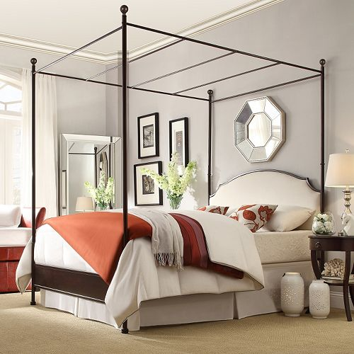 HomeVance Gabrielle Canopy Bed