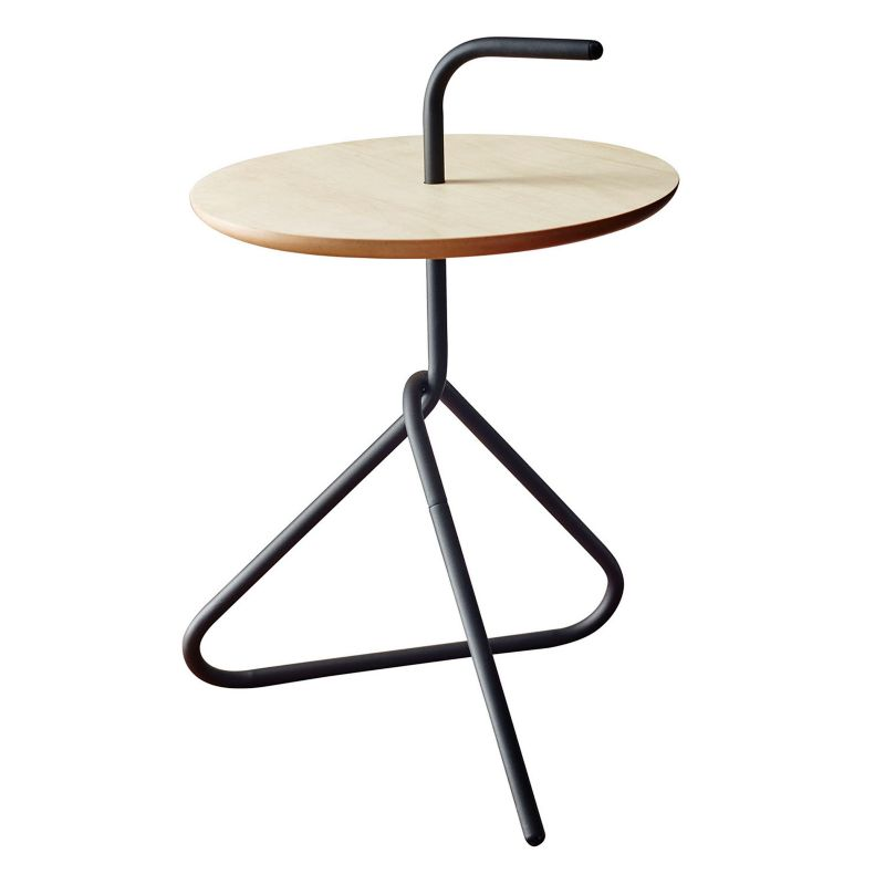 Adesso Elroy End Table, Black
