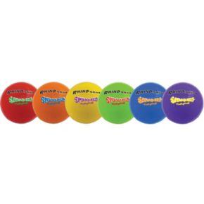 Champion Sports 6-pk. Rhino Skin Super Squeeze Volleyball Set