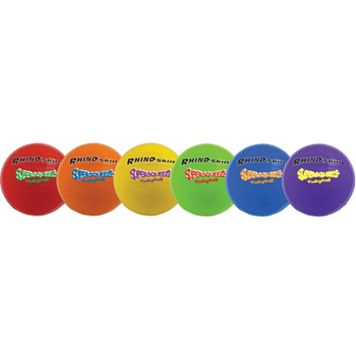 Champion Sports 6-pk. Rhino Skin Super Squeeze Volleyball Set