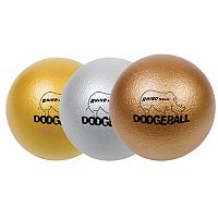 Champion Sports Rhino Skin Metallic Dodgeball Set