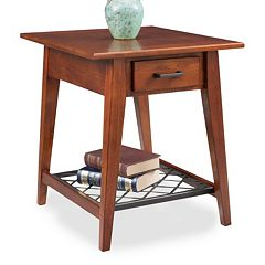 Leick Furniture Westwood Oak Finish 1-Drawer End Table