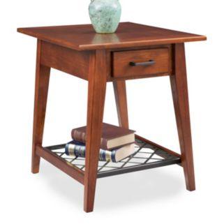 Leick Furniture Westwood Oak Finish 1-Drawer End Table