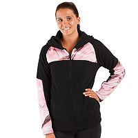 Women's Huntworth Hooded Colorblock Fleece Hiking Jacket