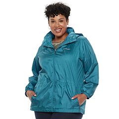 Plus Size Columbia Stone Creek Hooded Anorak Jacket