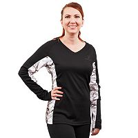 Huntworth Lifestyle Colorblock V-Neck Hiking Top - Women's
