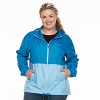 Plus Size Columbia Rockwell Falls Windbreaker Jacket