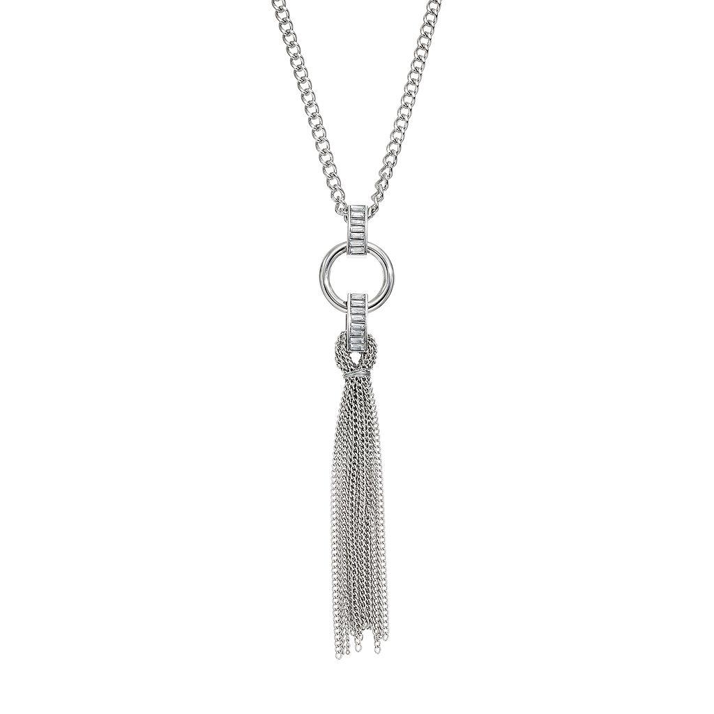 Jennifer Lopez Tassel Pendant Necklace