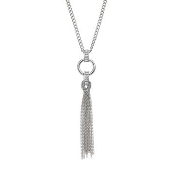 Jennifer Lopez Tassel Pendant Necklace