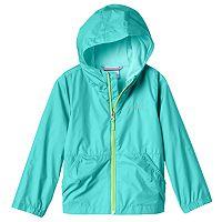Girls 4-18 Columbia Lightweight Solid Rain Jacket