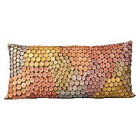 Mina Victory Oblong Button Throw Pillow