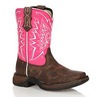 Lil Durango Let Love Fly Girls' 8 in Western Boots
