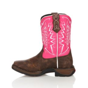 Lil Durango Let Love Fly Girls' 8-in. Western Boots
