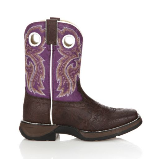Lil Durango Girls' 8-in. Saddle Western Boots