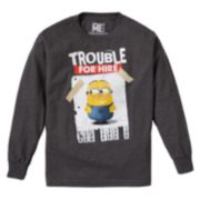Despicable Me Minion Trouble For Hire Tee - Boys 8-20