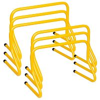 Champion Sports 6 pc 12 in Weighted Training Hurdle Set