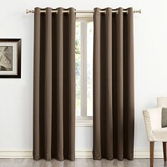 Sun Zero Ludlow Blackout Grommet Window Curtain