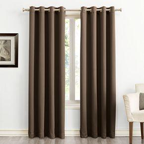 Sun Zero Ludlow Blackout Grommet Window Curtain
