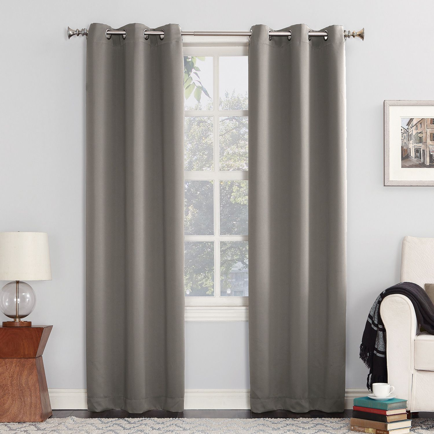 Sun Zero Ludlow Blackout Curtain