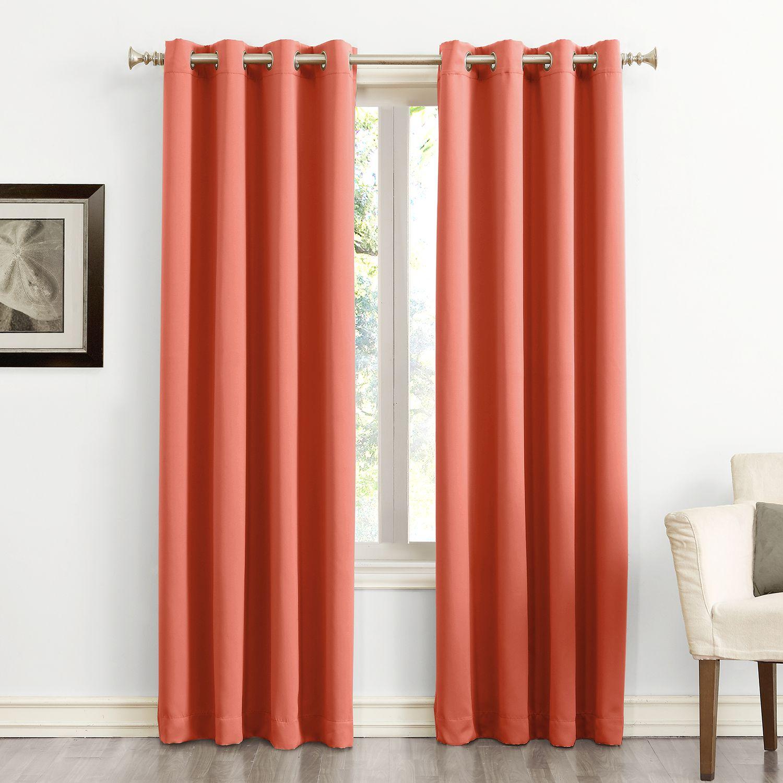 Captivating Sun Zero Ludlow Blackout Curtain