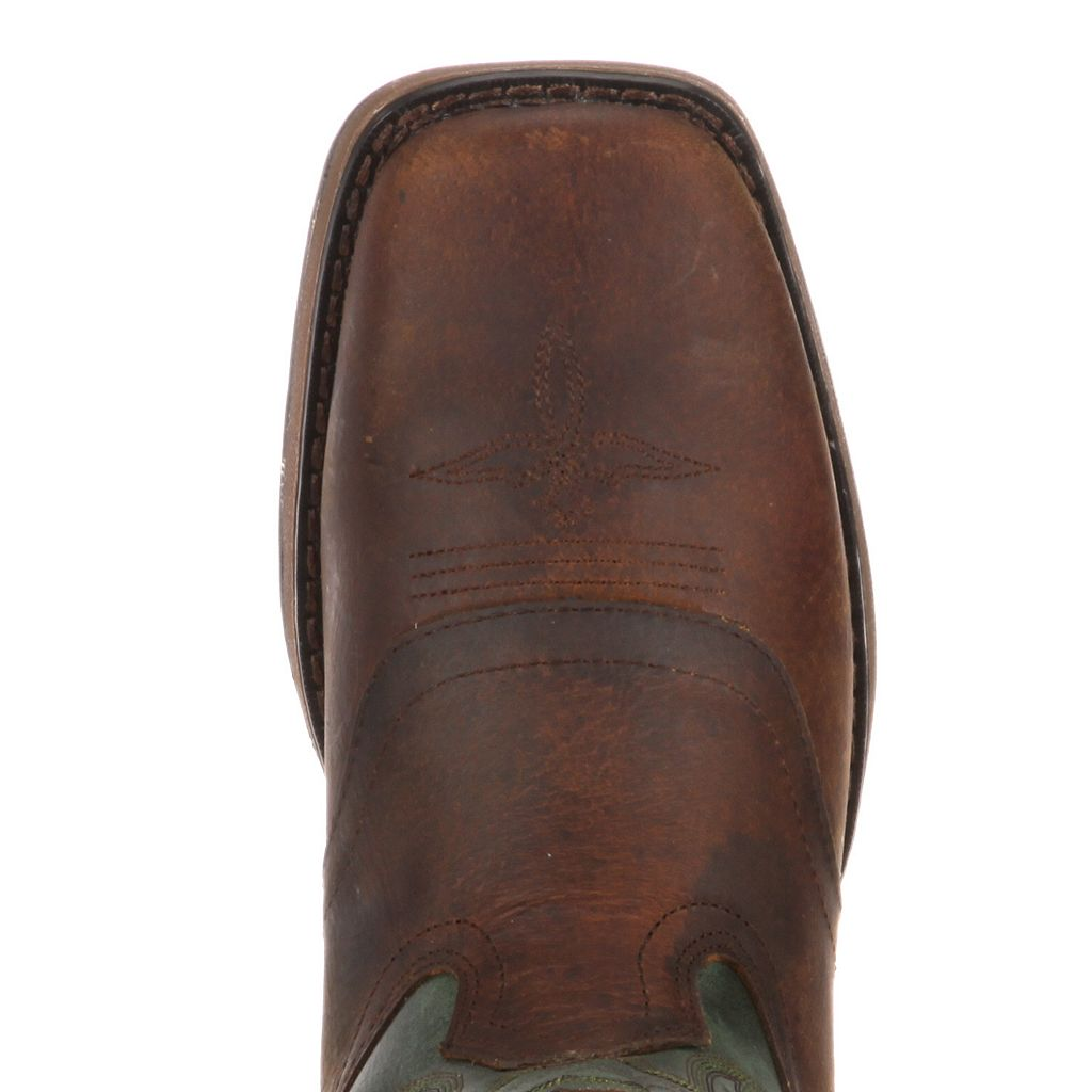 Lil Durango Boys' Full Grain 8-in. Saddle Western Boots