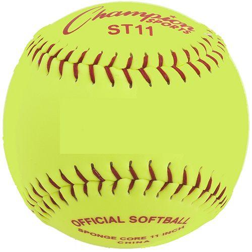 Champion Sports 12-pk. 11-in. Safety Softballs