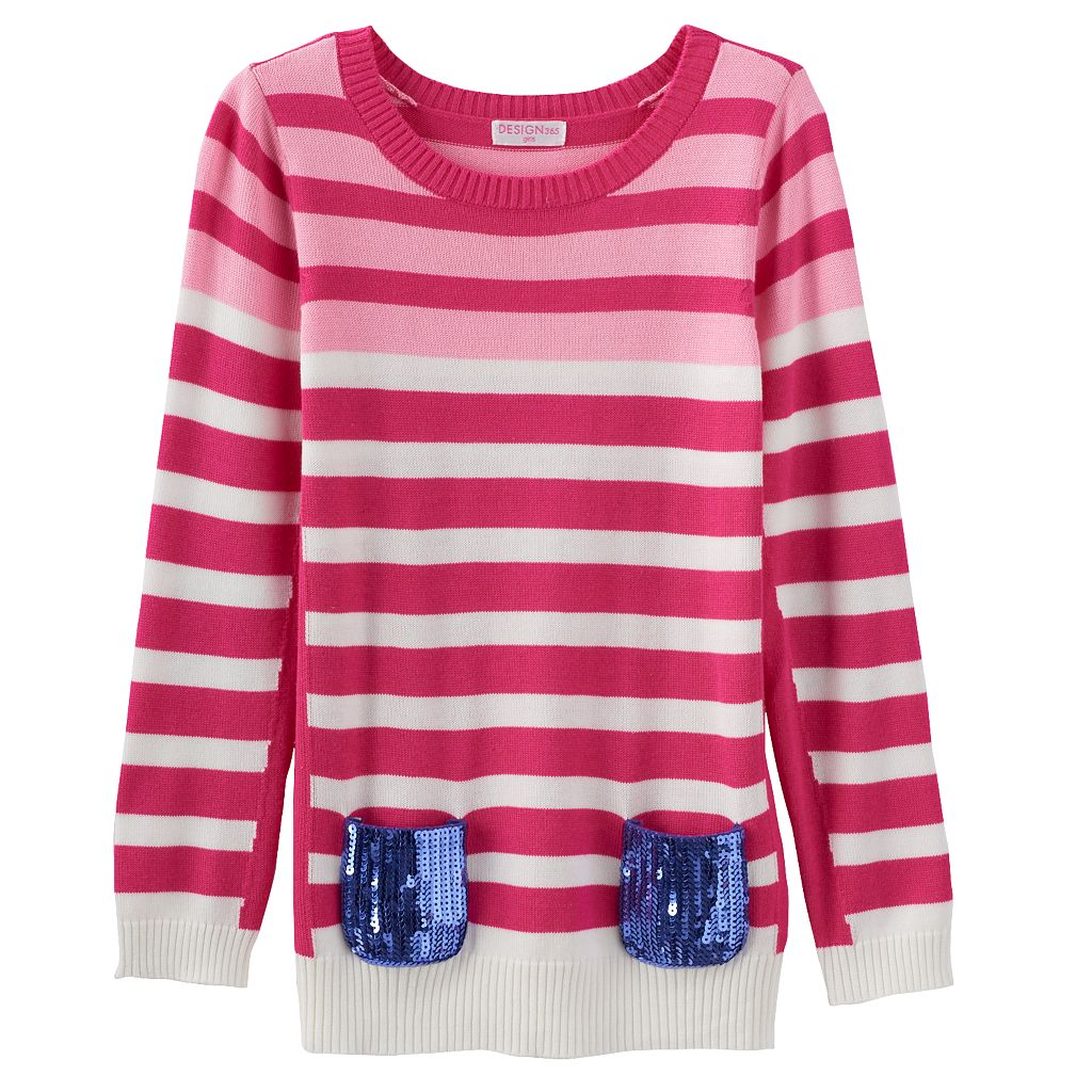 Design 365 Stripe Sweater - Toddler Girl