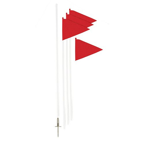 Champion Sports Soccer Corner Flag Set