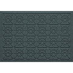 WaterGuard Star Quilt Indoor Outdoor Mat