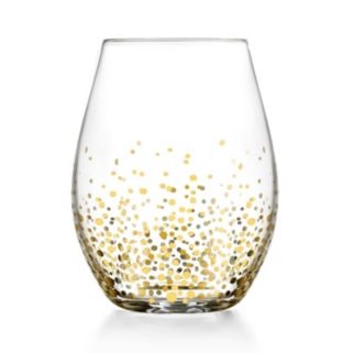 Fitz & Floyd Luster 4-pc. Stemless Glass Set