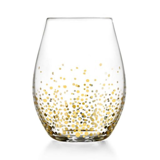 Fitz & Floyd Luster 4-pc. Stemless Glass Set