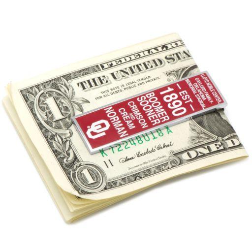 Oklahoma Sooners Money Clip