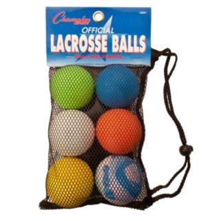 Champion Sports 6-pk. Lacrosse Ball Set