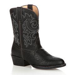 Lil Durango Boys' 8 in Cowboy Boots