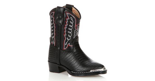 Lil Durango Boys Lizard Skin Cowboy Boots