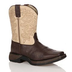 Lil Durango Boys' 8 in Saddle Westerm Boots