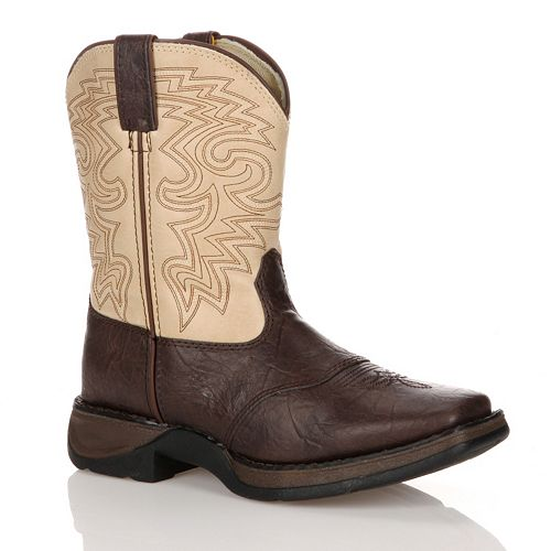 Lil Durango Boys' 8-in. Saddle Westerm Boots