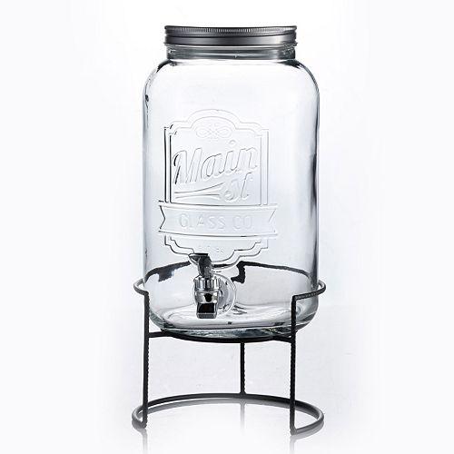Style Setter Main St. 2-Gal. Beverage Dispenser
