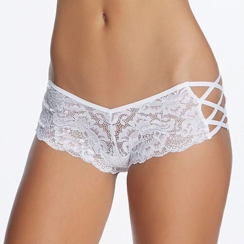 Jezebel Helena Strappy Lace Hipster Panty 73041 - Women's True Red