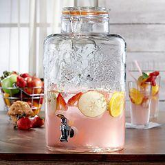 Style Setter Vineyard Fruit 3-Gal. Beverage Dispenser