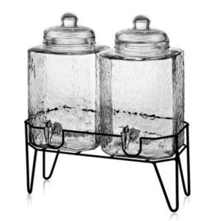 Style Setter Hamburg 2-pc. Glass Beverage Dispenser Set with Stand