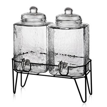 Style Setter Hamburg 2-pc. Glass Beverage Dispenser Set with Stand
