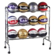 Champion Sports 12-Ball Basketball Cart