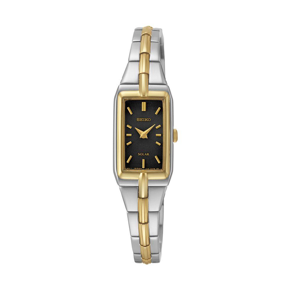 Seiko Women's Stainless Steel Solar Watch