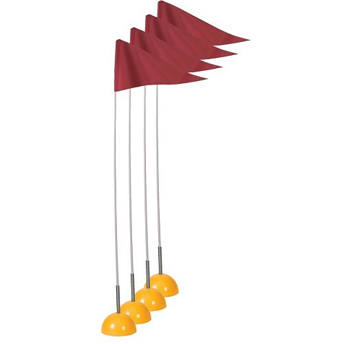 Champion Sports 4-pc. Soccer Spring-Loaded Corner Flags